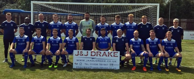 Godmanchester Rovers Team Photo 2019 2020